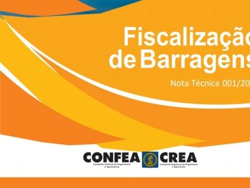 Nota Técnica 001/2019 - Fiscalização de Barragens
