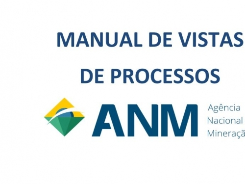Manual de Vistas de Processos da ANM