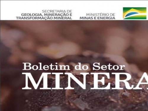 Boletim Setor Mineral