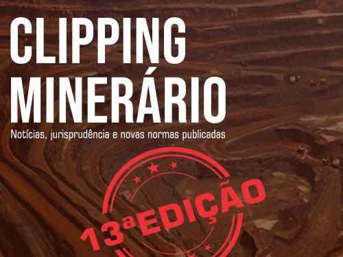 Clipping Minerário - 13a edição