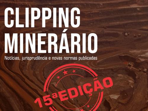 Clipping Minerário - 15a edição