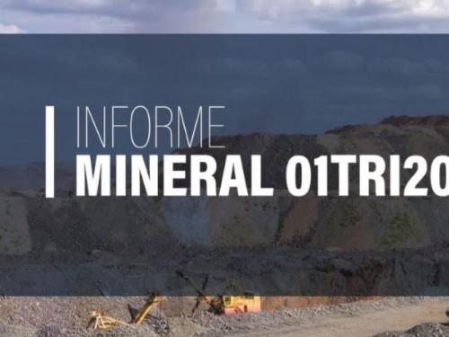 Informe Mineral ANM -  1º Trimestre de 2021