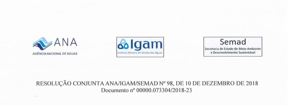 MG firma cooperação com ANA para aprimorar gestão de recursos hídricos