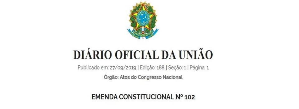 Emenda Constitucional muda regra de CFEM