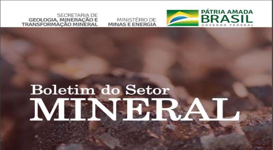 SGM/MME lança primeiro Boletim do Setor Mineral