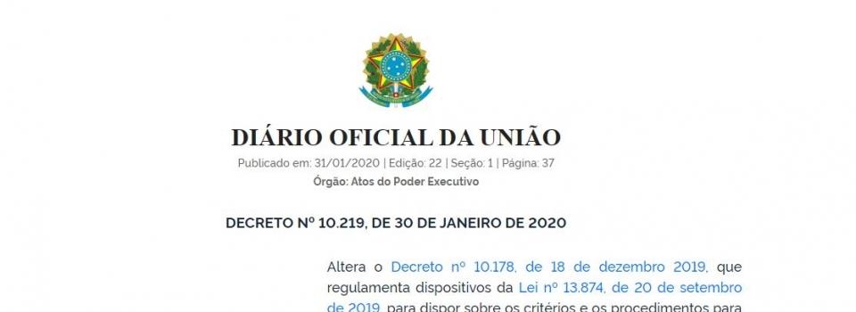 Publicado novo Decreto sobre a classificação de risco de atividades