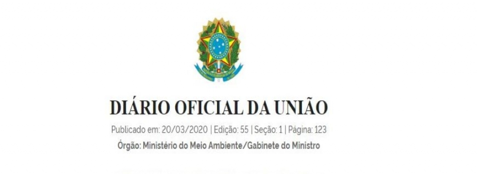 MMA publica Portaria para declarar estado de emergência ambiental