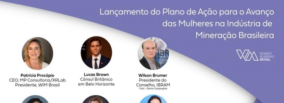 Women in Mining Brasil lança Plano de ação em webniar